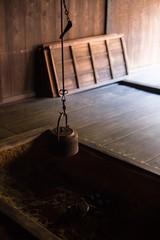 妻籠の囲炉裏