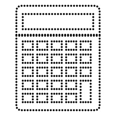 Calculator simple sign