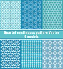Quartet continuous pattern