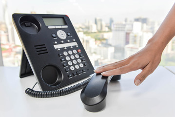 IP Phone - Hang up the phone call