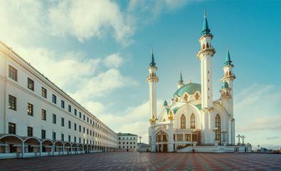 Qol Sharif mosque in Kazan. Russia Wall mural
