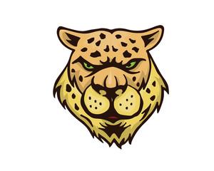 Leadership Animal Logo - Charismatic Cheetah Leader Character