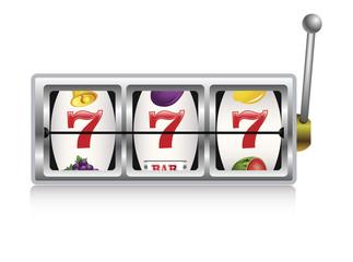 Slot Machine. Vector