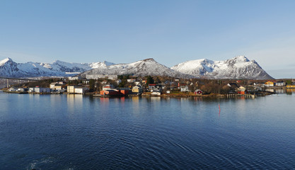 Risøyhamn in Nordnorwegen