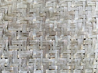weave bamboo pattern for background