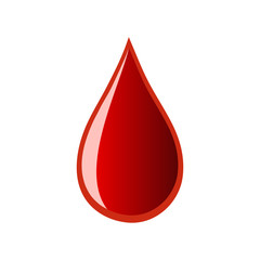 vector of dripping blood