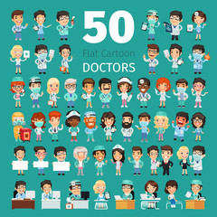 Cartoon Doctors Big Collection