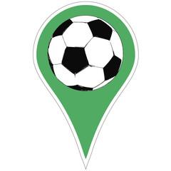 pointer soccer ball