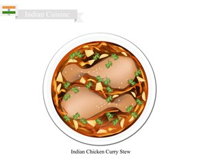 Indian Chicken Curry, A Famous Dish in India