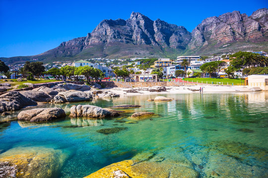 The city beach of Cape Town