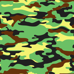Military background. Seamless vector pattern