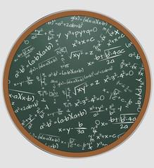 formula math chalkboard