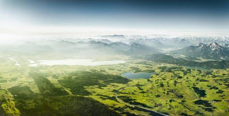 Allgaeu Aerial View