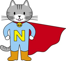 猫のヒーロー