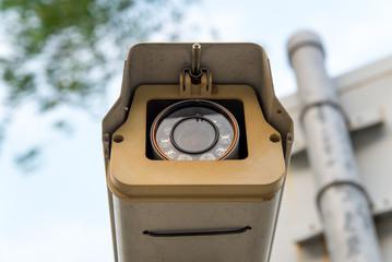 CCTV surveillance camera recording
