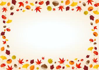秋 イメージ 背景