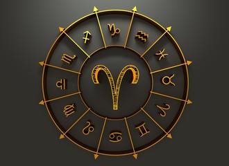 Astrology symbol aries