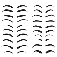 set of eyebrow collection