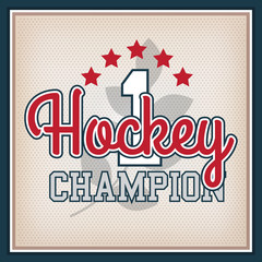 Ice Hockey Badge