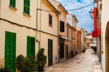Alcudia Old Town in Majorca Mallorca