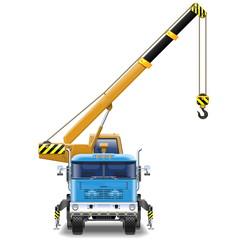Vector Truck Crane