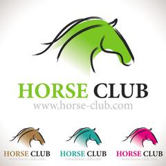 logo cheval équitation centre équestre