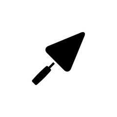 Trowel icon. Vector illustration