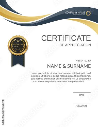 Certificate template modern certificate template design vector certificate template modern certificate template design vector yelopaper Gallery