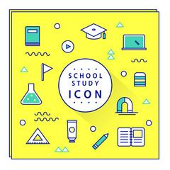 School Study Icon