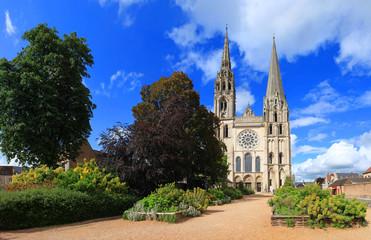 Cathédrale Notre-Dame de Chartres, façade occidentale