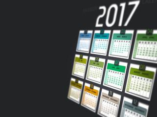 Kalender 2017 im Fokus