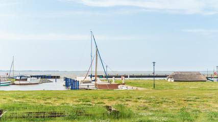 Hafen von Bodstedt am Darß