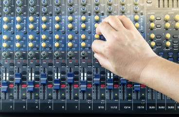 Live Sound Mixers and music studio