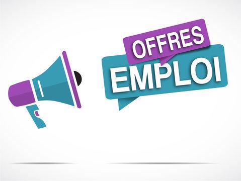 mégaphone : offres emploi