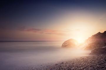 Sea Sunset in Foros (Ukraine, Crimea - 2016)