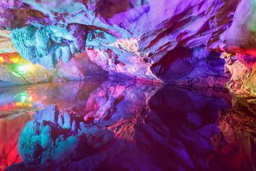 China caves, karst landforms