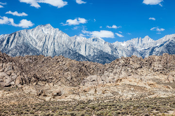 Mt Whitney in California