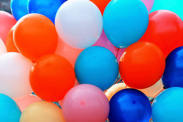 texture colorful balloons background