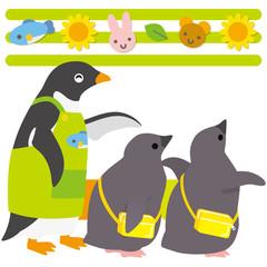 アデリーペンギン 保育園