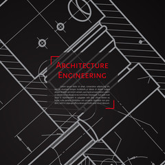 Engineer or architect illustration