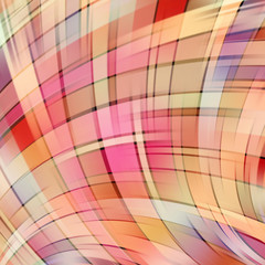 Colorful smooth light lines background. Beige, orange, pink, brown colors