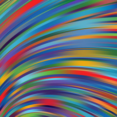 Abstract design creativity Background of colorful waves