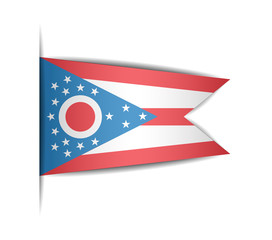 Flag of the state of Ohio.