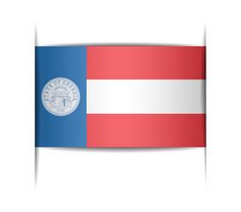 Flag of the state of Georgia 1920–1956.