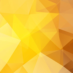 abstract background consisting of yellow, brown triangles
