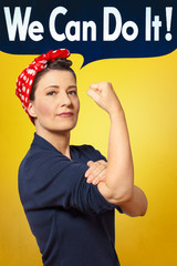 We can do it photo rosie riveter