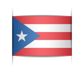 Flag of the state of Puerto Rico.