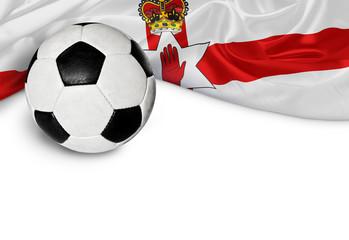 Banner Fußball Nordirland