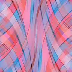 Colorful smooth light lines background. Pink, blue colors.