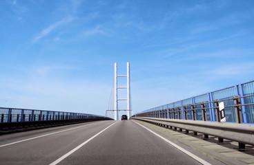 Rügenbrücke in Stralsund